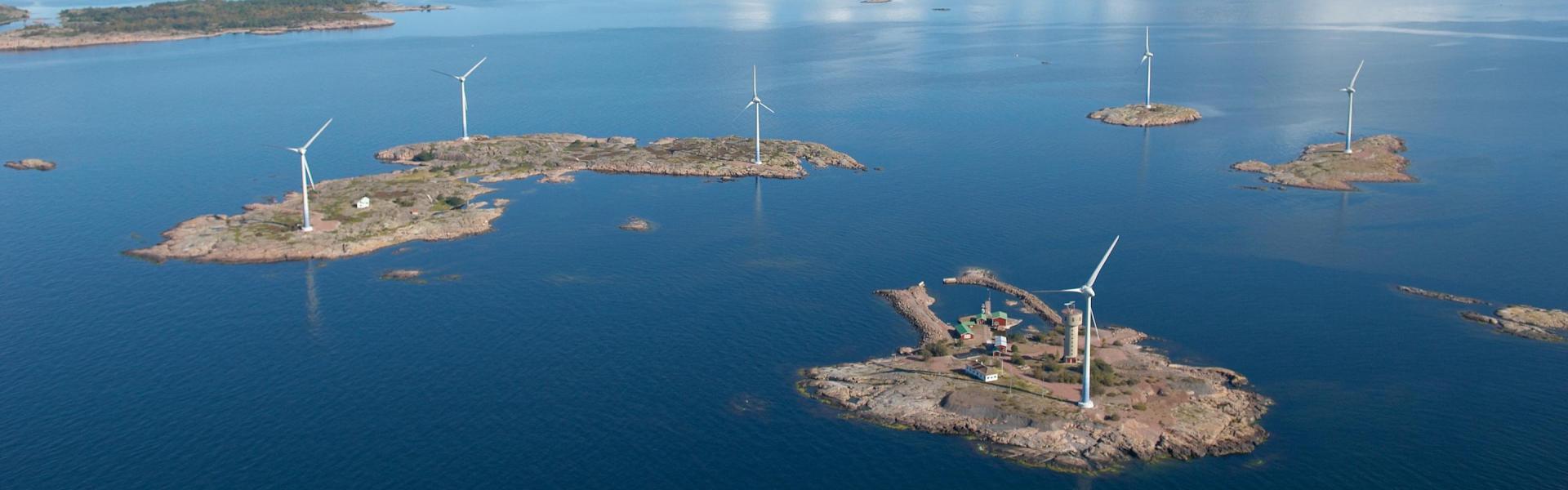 Vi nyttjar åländsk grön el!