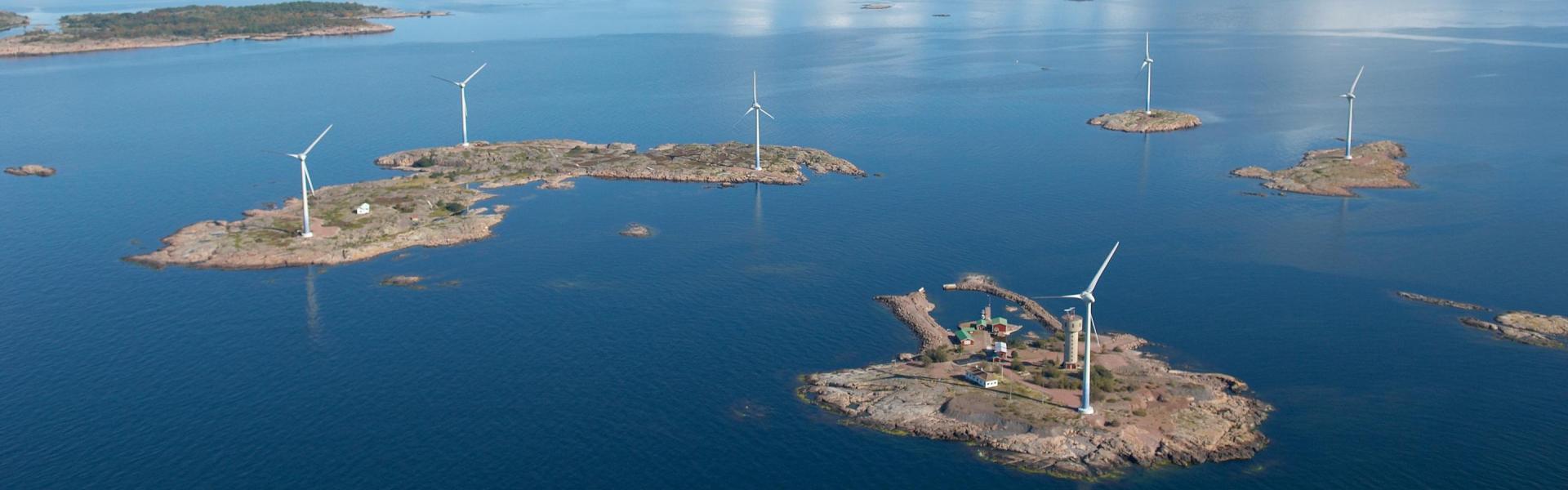 We use wind energy
